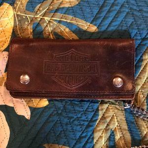 Harley-Davidson wallet
